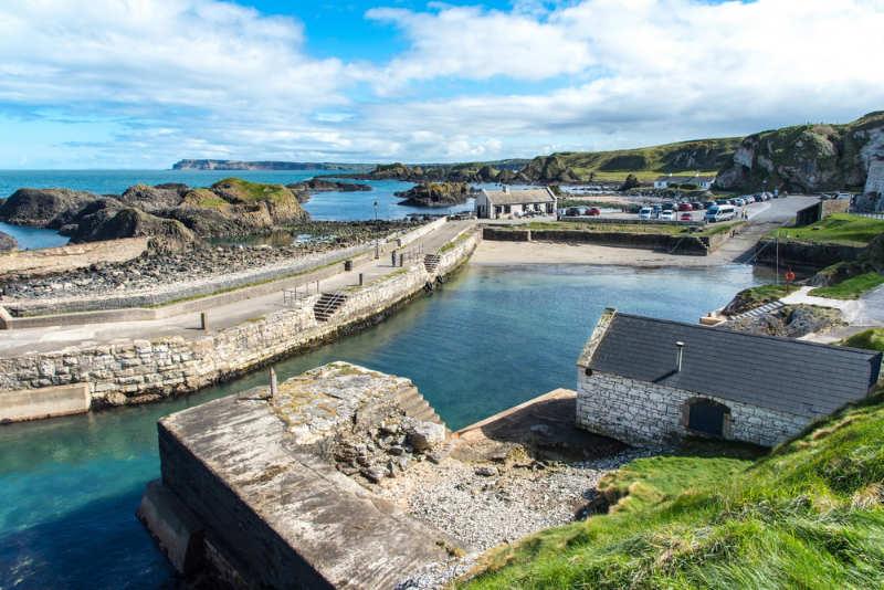 Ballintoy Harbour - turismo irlanda del norte