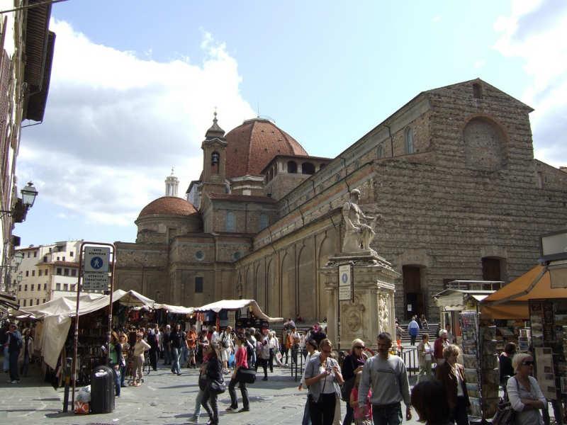 Basilica di San Lorenzo - que ver en florencia