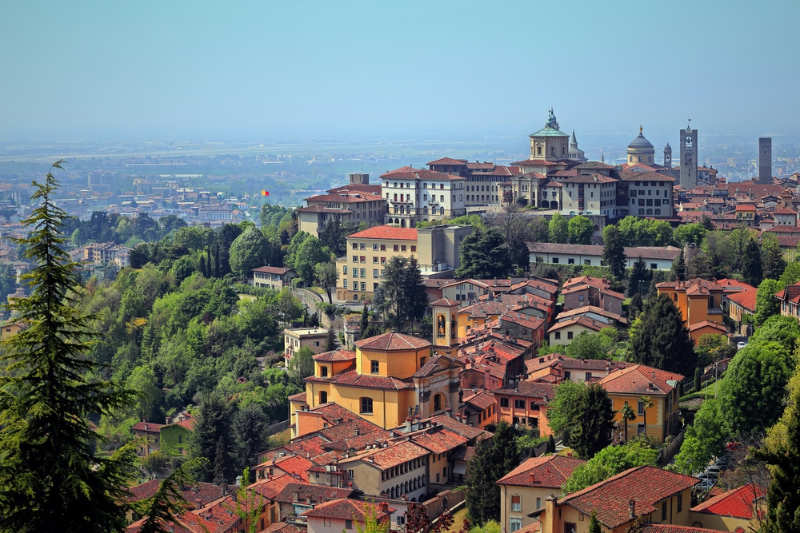 Bergamo - que ver en italia
