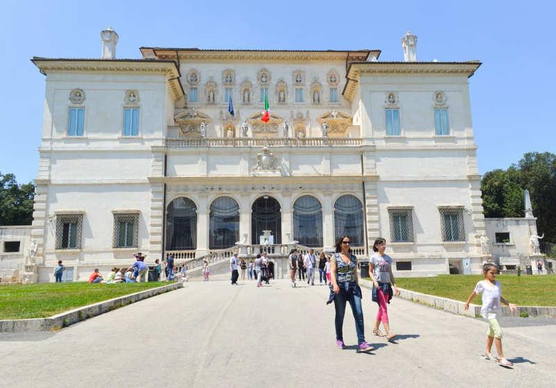 Galeria borghese - que ver en roma