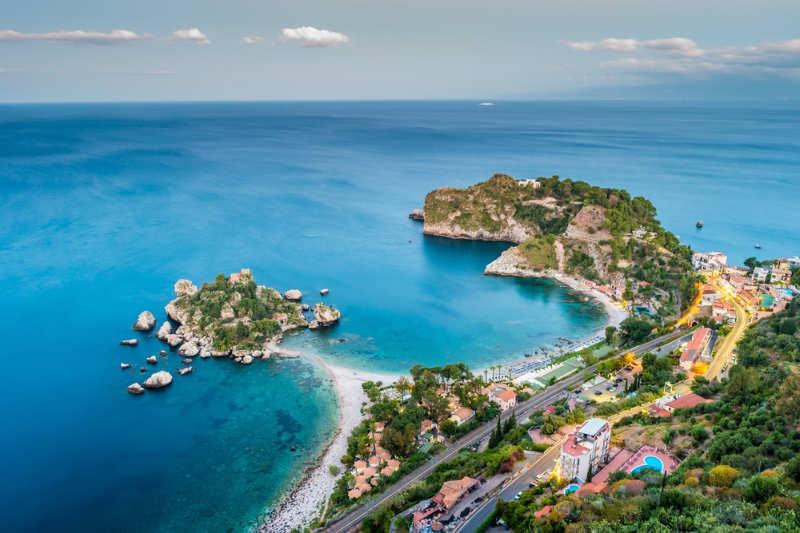 Isola Bella - playas de italia