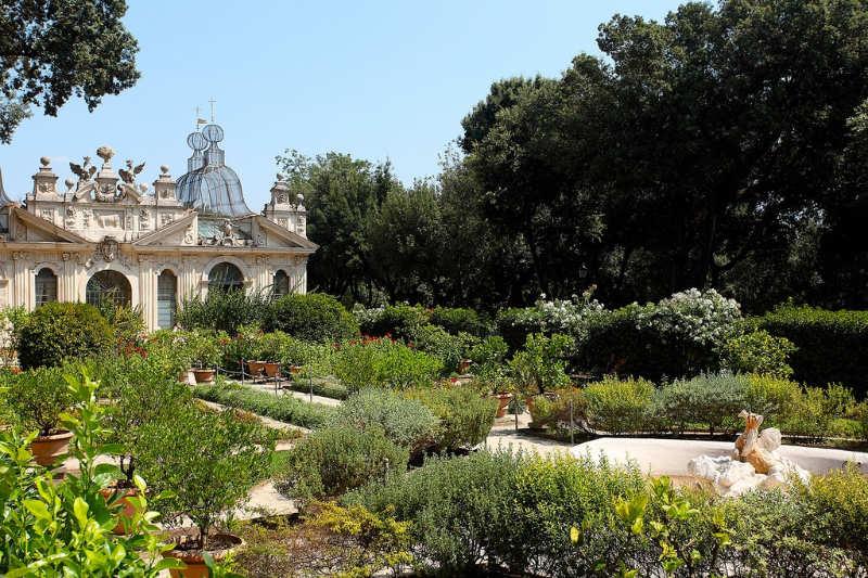 Jardines de Villa Borghese - que hacer en roma