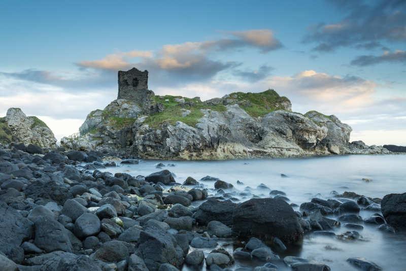 Kinbane-Castle - que ver en irlanda del norte