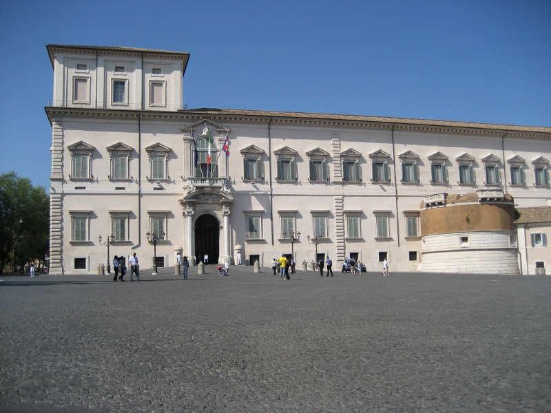 Palacio Quirinale - que hacer en roma