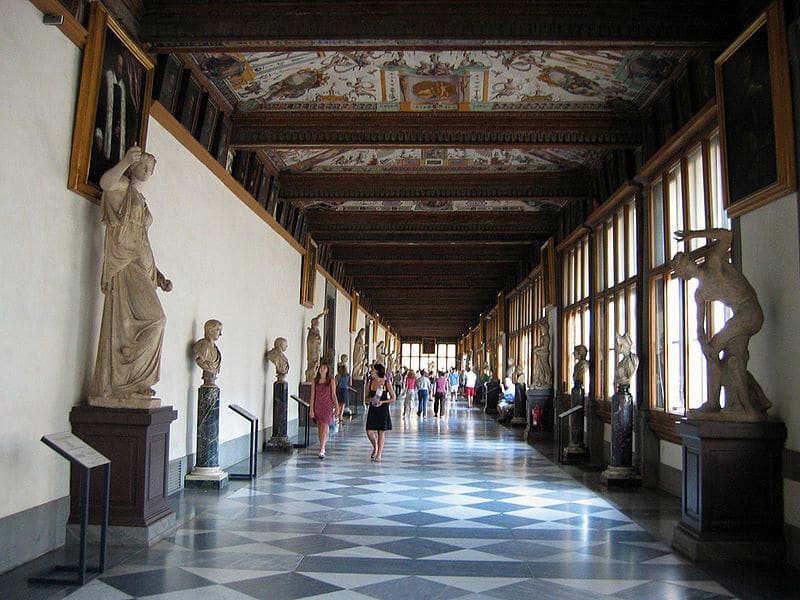 Palacio y Galería de los Uffizi - que ver en florencia