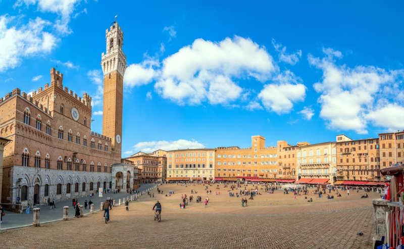 Piazza del Campo - que ver en siena
