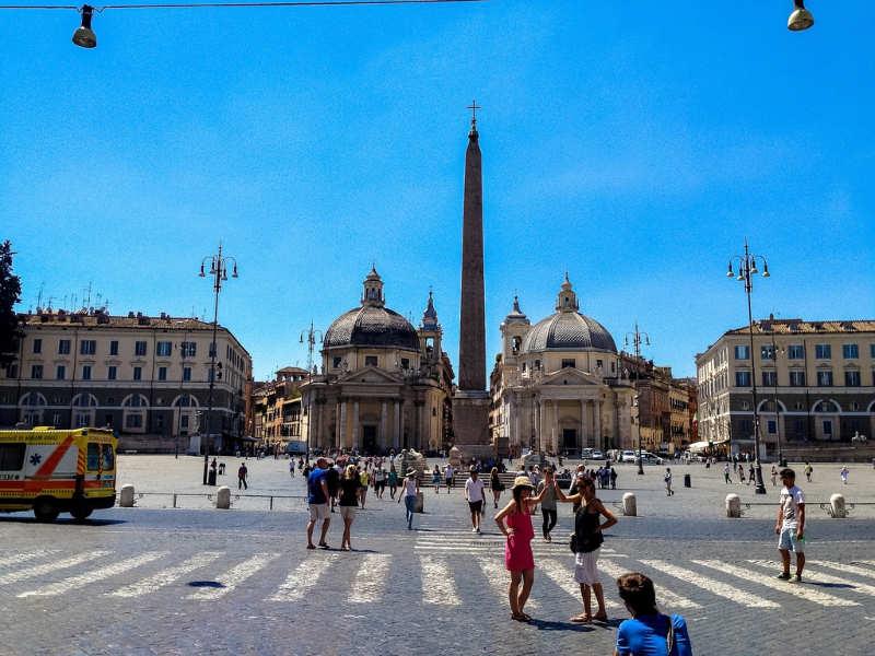 Piazza del Popolo - que visitar en Roma