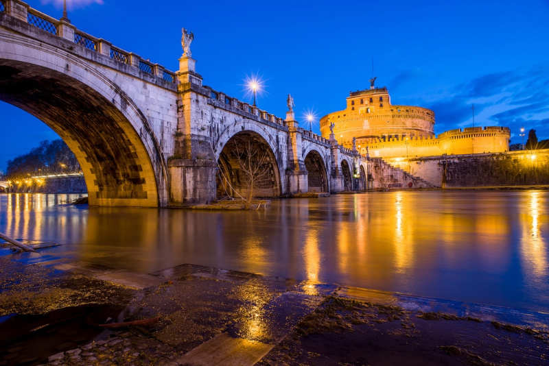 Ponte Sant Angelo - que ver en roma