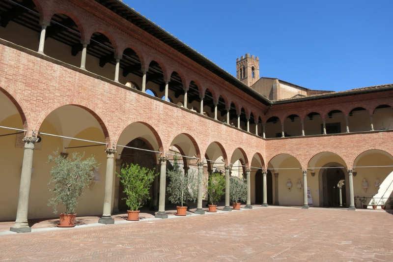 Santuario di Santa Caterina - que visitar en siena