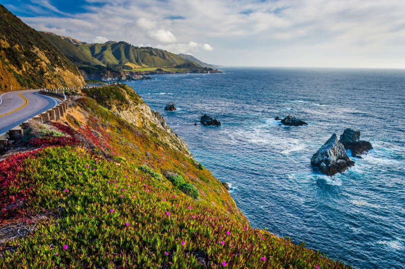 The Big Sur Coastline