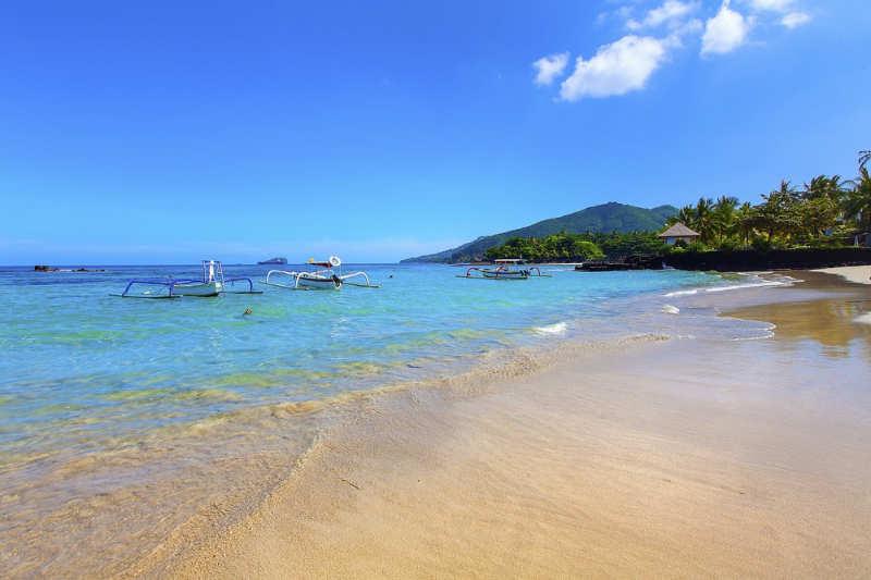 White Sand Beach - playas de bali