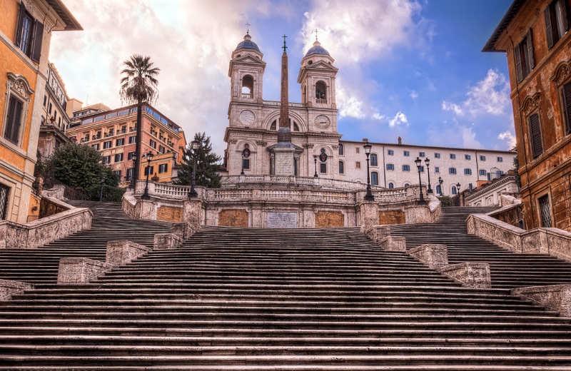 escaleras españolas - que ver en roma