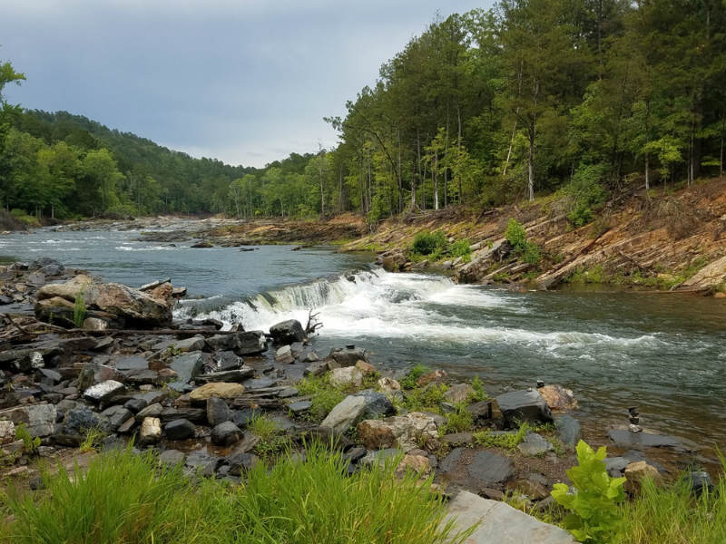 Beavers Bend Waterfall, McCurtain County