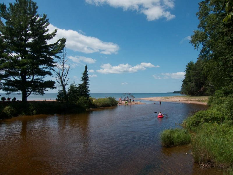 Big Bay Beach en Town Park, Madeline Island, Lago Superior