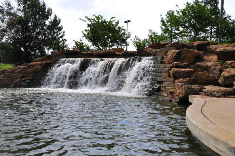 Bricktown Falls, Oklahoma City