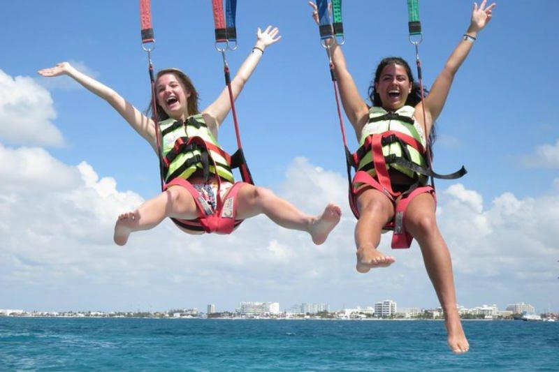 Cancún y Playa del Carmen: aventura de paravelismo