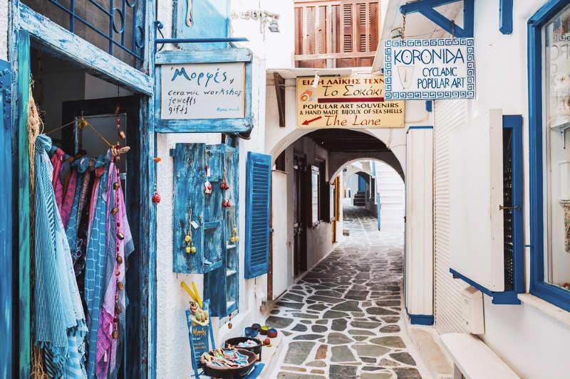 Casco antiguo de Naxos