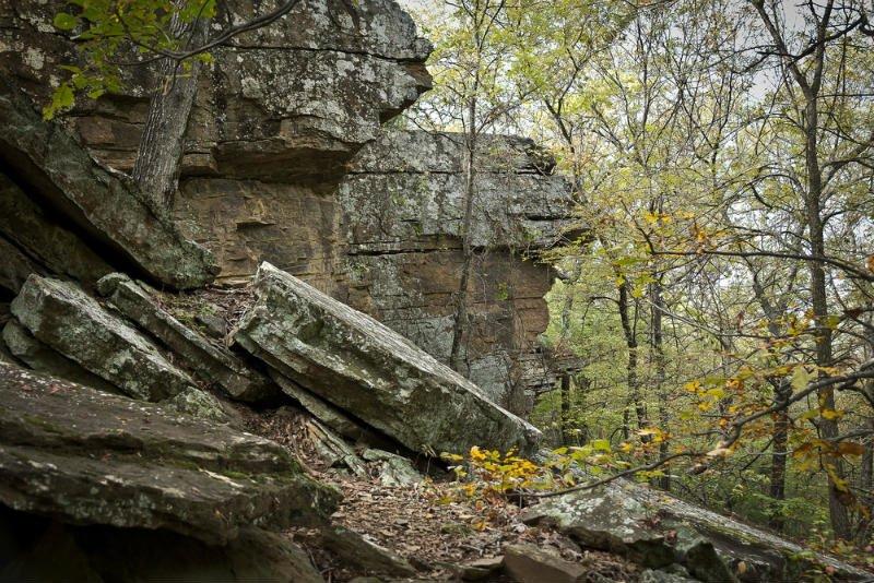 Heavener Runestone Falls, Le Flore