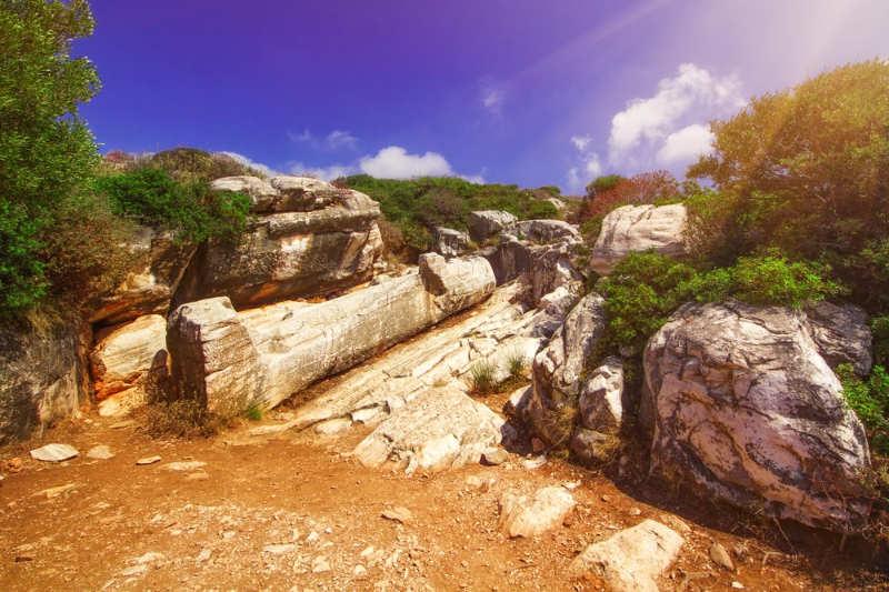 Kouros de Apollonas - que hacer en naxos