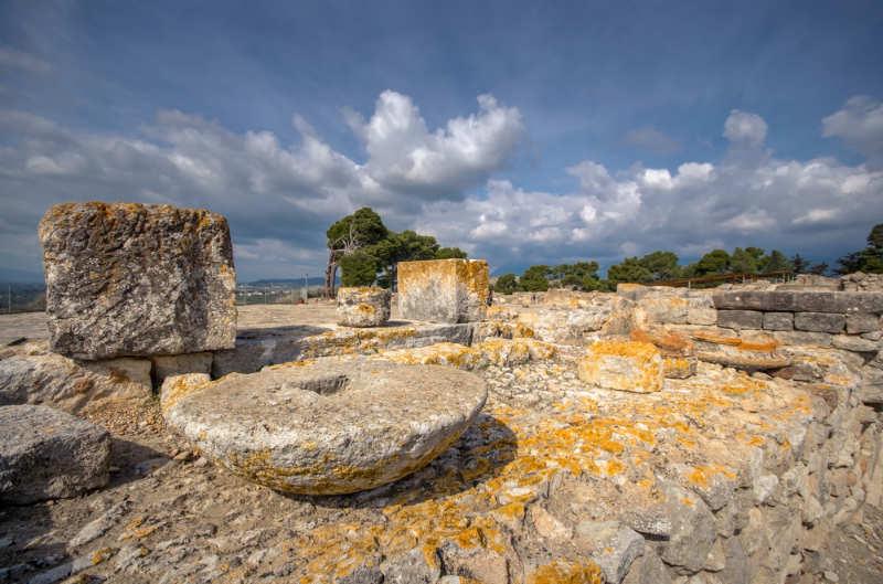 Palacio de Phaistos y sitio arqueológico