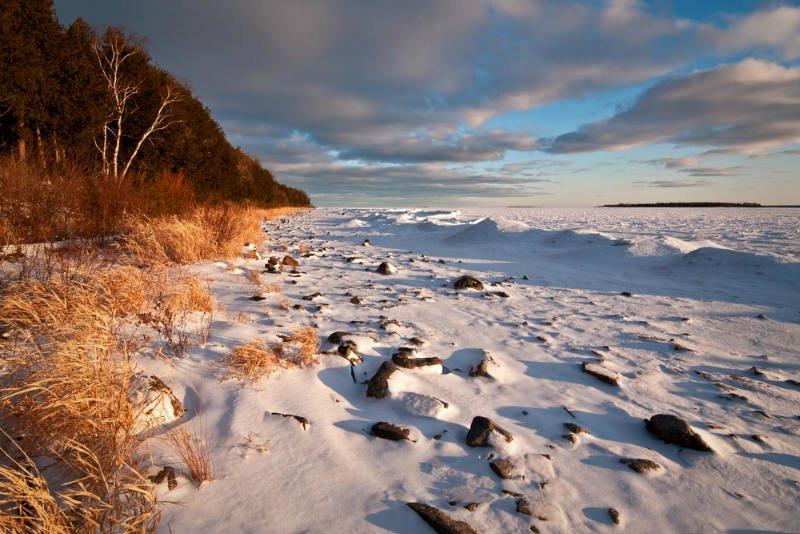 Parque Estatal Península, Green Bay, Lago Michigan