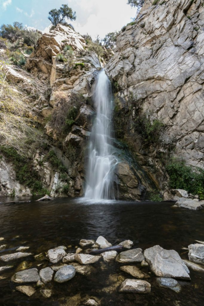 Sturtevant Falls In The Angeles National Forest