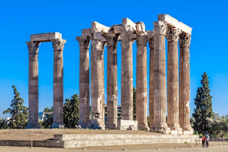 Templo de Zeus Olímpico - cosas que ver en atenas