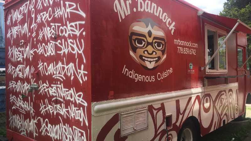 mr bannock comida indígena vancouver